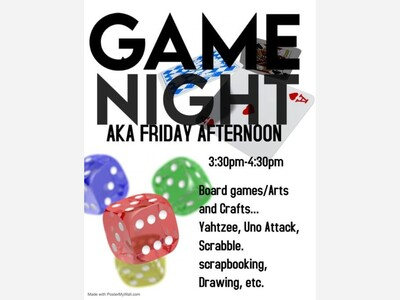 Game Night at The Clubhouse!