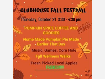 Fall Festival At The Clubhouse